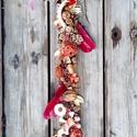 Őszi ajtódekor 2., Dekoráció, Dísz, Virágkötés, Kivételesen nem kopogtatót, hanem egy hosszú, ajtófüggőt kínálok eladásra.  60 cm hosszú, de kérésr..., Meska