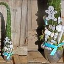 AKCIÓ ! Grincsfa , Dekoráció, Ünnepi dekoráció, Virágkötés, A Grincsfa nagyon modern és mutatós dísz a téli, karácsonyi ünnepek alatt.  A grincsfa alapja több ..., Meska