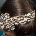 Horgolt hajpánt, Hajbavaló, Hajpánt, Horgolás, Színátmenetes fonalból horgolt hajpánt virág dísszel. Hétköznapi és alkalmi viseletre egyaránt kivál..., Meska