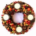 """""""Vidám, nyüzsgő várakozás :)"""" - adventi koszorú RENDELHETŐ!, Dekoráció, Otthon, lakberendezés, Karácsonyi, adventi apróságok, Karácsonyi dekoráció, Mindenmás, Virágkötés, (Megrendelhető az adventi időszakra. Az elkészítési idő hosszú (akár 1-2 hét) és a Karácsony közele..., Meska"""