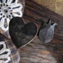 Kovácsolt szeg, Férfiaknak, Magyar motívumokkal, Dekoráció, Otthon, lakberendezés, Kovácsoltvas, Ötvös, Hagyományos kézi kovácsolással készült kovácsszegek díszített fejjel. Használhatod dekorációként vi..., Meska