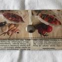 Bármitartó - receptes, Táska, Pénztárca, tok, tárca, Pénztárca, Bármitartó      Mérete:14x7 cm nem vízálló, Meska