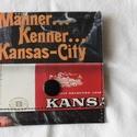 Bármitartó - Kansas-city, Táska, Pénztárca, tok, tárca, Pénztárca, Bármitartó      Mérete:10x10,5 cm nem vízálló, Meska