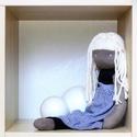 Baba, Játék, Baba, babaház, Plüssállat, rongyjáték, Olivia.   Fehér hajú waldorf-szerű baba. Nagyon inspirálnak a waldorf babák, de saját véleményem is ..., Meska