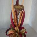 Virág termésben, Dekoráció, Dísz, Virágkötés, Akár Nőnapra is ajándékozható ez a kis összeállítás .Minden természetes benne és ez biztosan marada..., Meska
