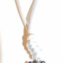 Borzoska-fekete  édesvízi tenyésztett gyöngy nyaki, Ékszer, óra, Képzőművészet, Medál, Nyaklánc, Ékszerkészítés, Gyöngyfűzés, Apró fekete(színjátszós)édesvízi tenyésztett gyöngyöt használtam fel ennek a kis borzos bogyó medál..., Meska
