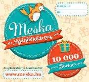 10 000 Ft-os Meska ajándékkártya