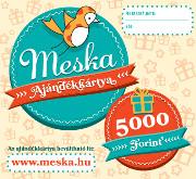 5 000 Ft-os Meska ajándékkártya