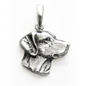 Vizsla medál, Ékszer, Nyaklánc, Medál, Ötvös, 925-ös ezüst VIZSLA kutya medál.  méretei: hossza: 20 mm          szélessége: 21 mm     , Meska