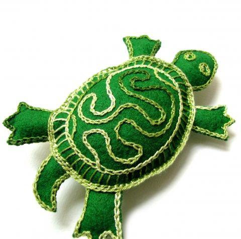 Teknős a Meskán