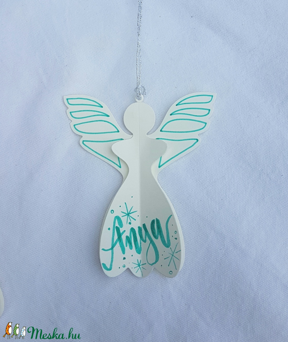 Karácsonyi angyal  - Meska.hu