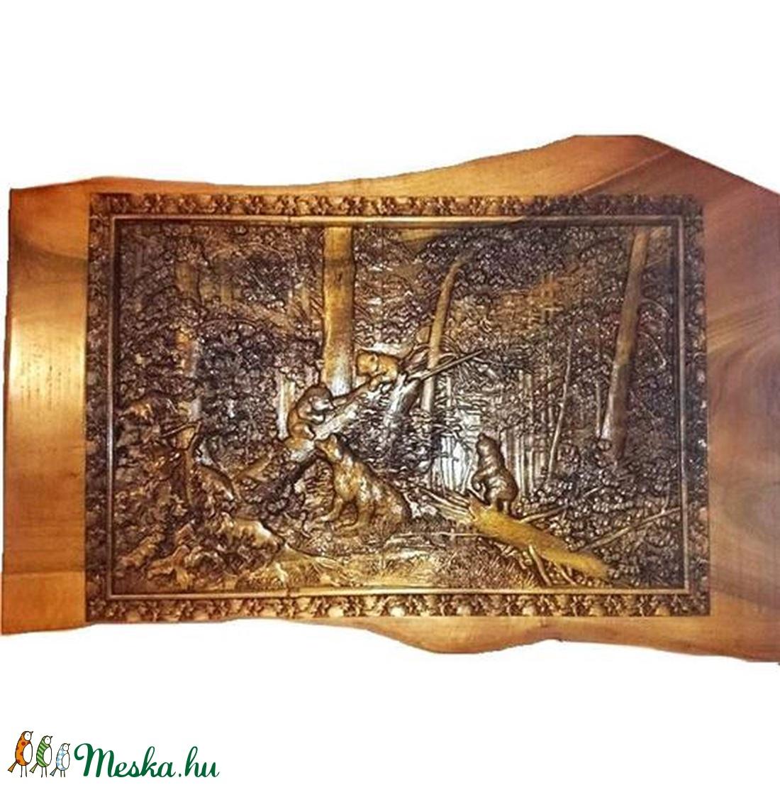 Erdei kép medvékkel (3Dfamuves) - Meska.hu