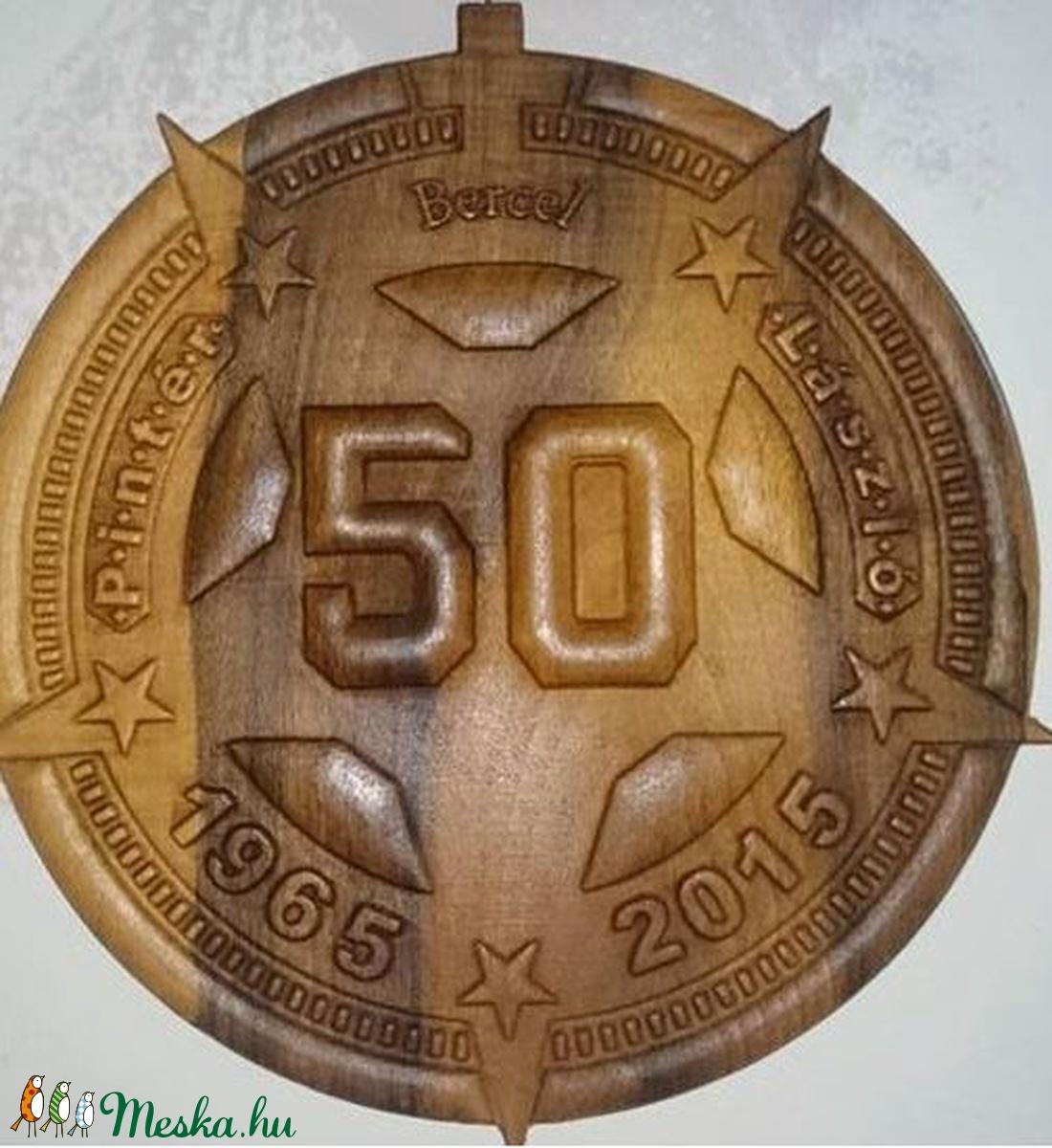 Születésnapi kép  - 50. születésnapra névvel, évszámokkal, csillag alakú (3Dfamuves) - Meska.hu