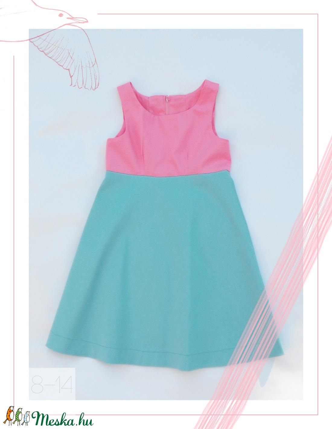 Hortenzia_lányka ruha 146-os (10-11 éves) (814GIRL) - Meska.hu