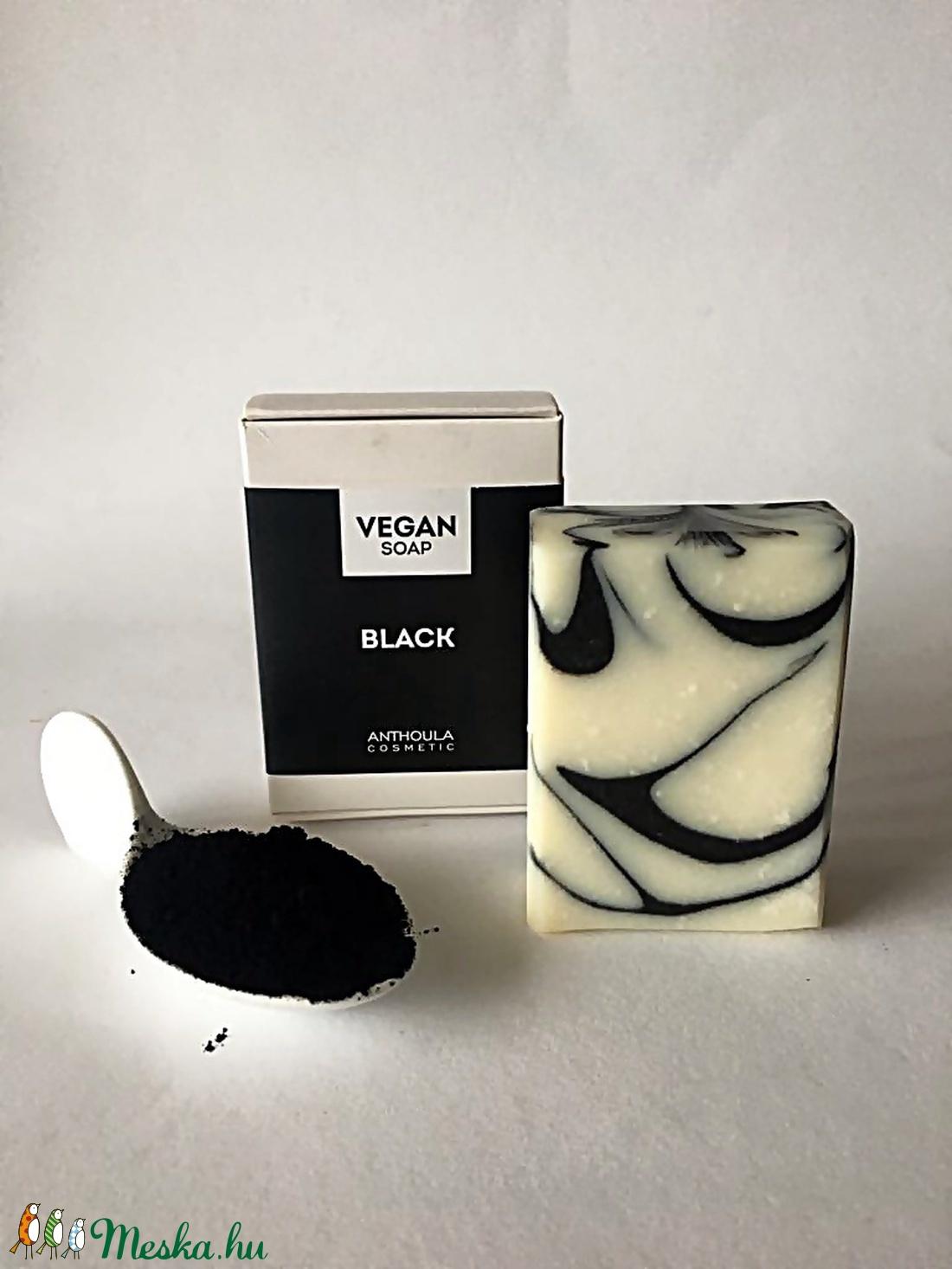 Black Vegán Szappan  (ACcosmetic) - Meska.hu