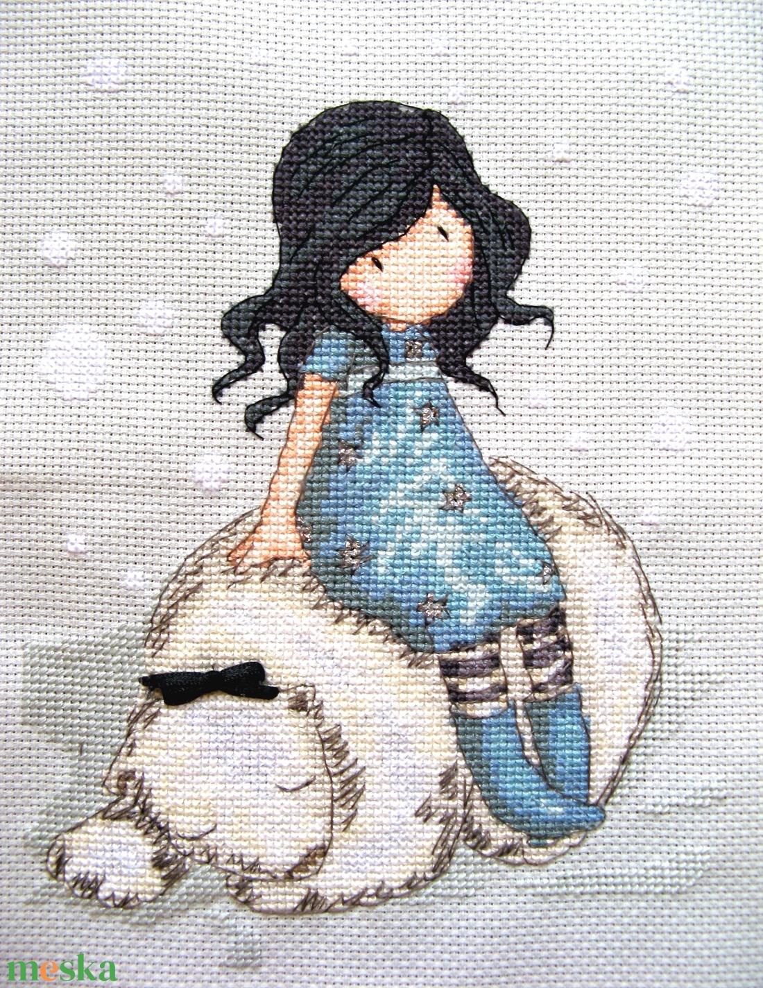 A kislány és a jegesmedve / Gorjuss - Meska.hu
