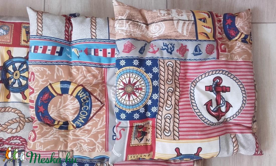 TENGERÉSZ stílusú párnaszett,.dekoráció,.párna - otthon & lakás - lakástextil - párna & párnahuzat - Meska.hu