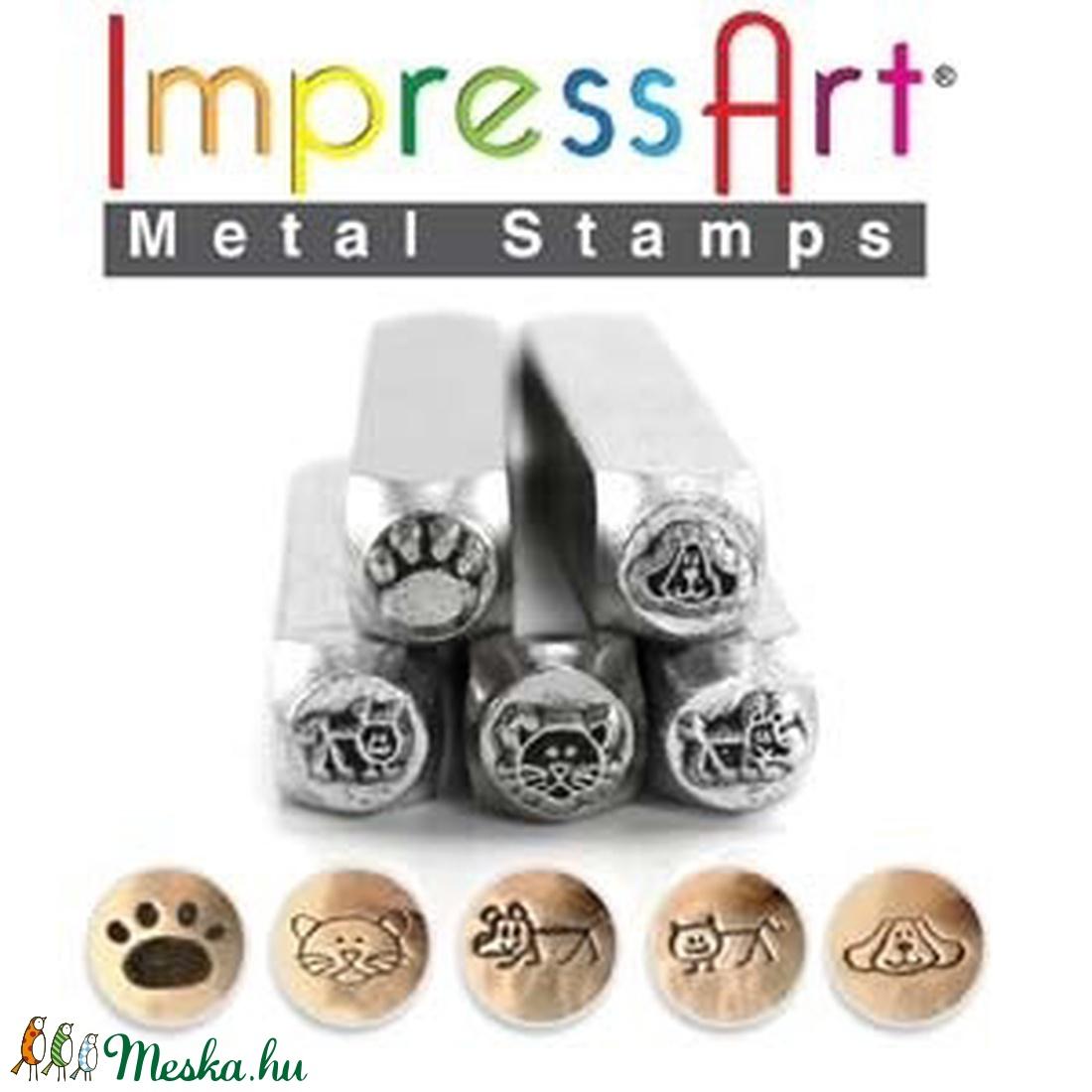 Metal design Stamping készlet - Meska.hu