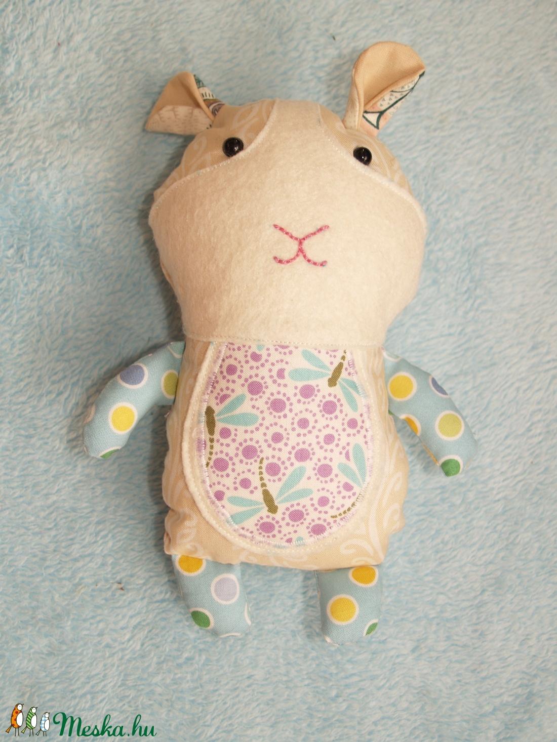 Textil tengerimalac figura (agotamama) - Meska.hu