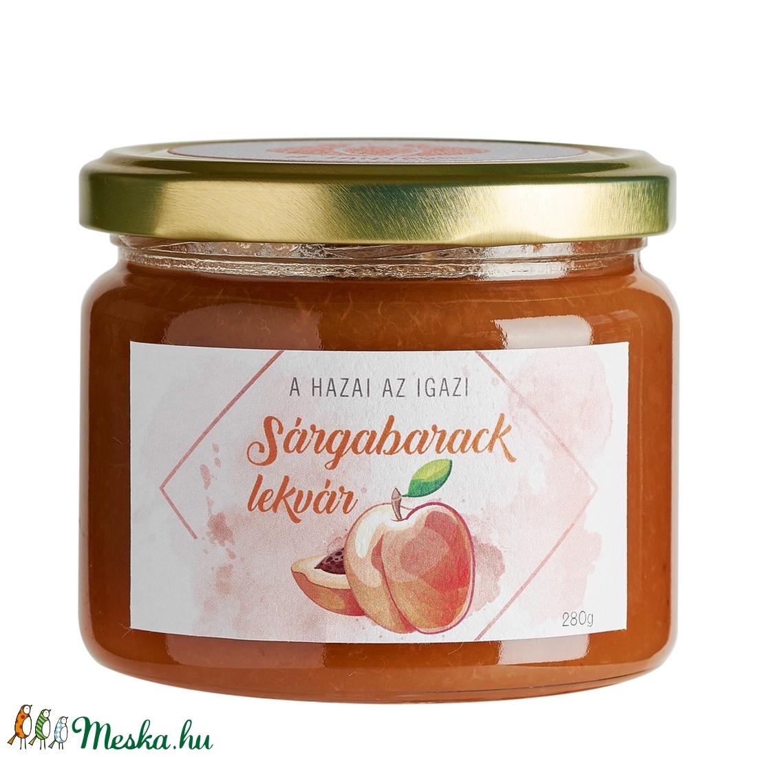 Sárgabaracklekvár - élelmiszer - lekvár - Meska.hu