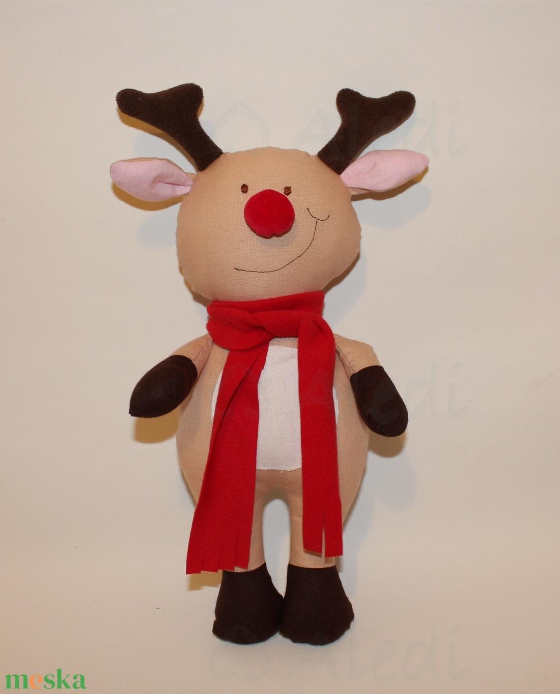 Rudolf, a rénszarvas figura (Aledi) - Meska.hu