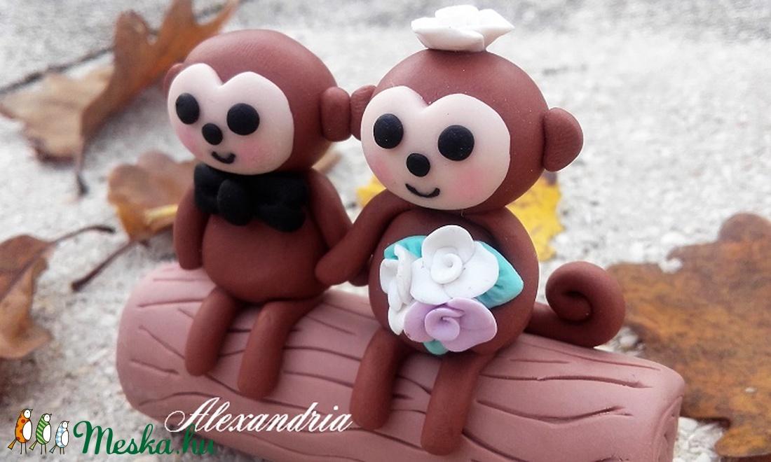 Esküvői tortadísz - esküvő - dekoráció - sütidísz - Meska.hu