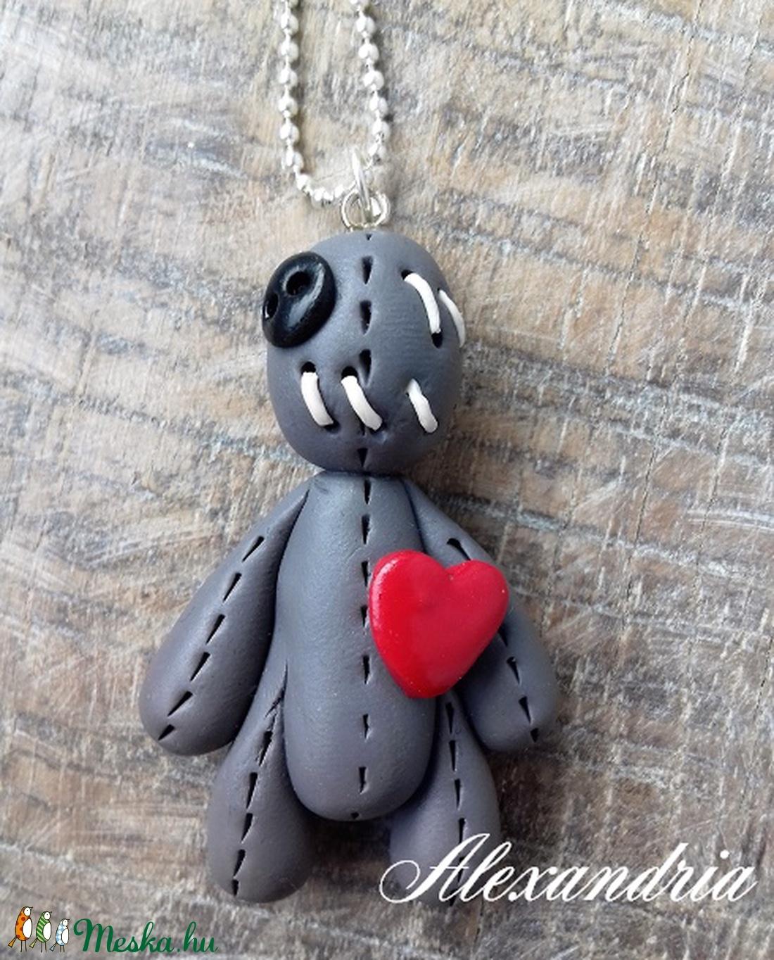 Woodoo nyaklánc - ékszer - nyaklánc - medálos nyaklánc - Meska.hu