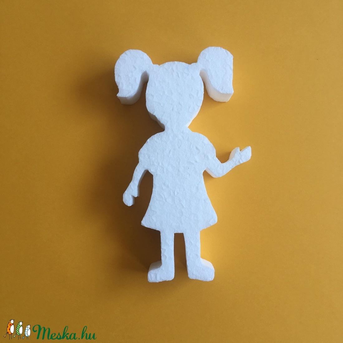 Hungarocell figura – copfos kislány - Meska.hu
