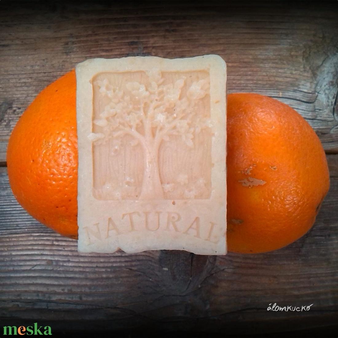 Narancs - fahéj szappan zabtejjel és szőlőmag olajjal - Meska.hu
