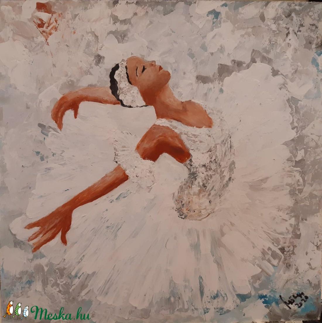 Balett - Táncosnő - Akrilfestmény - Meska.hu