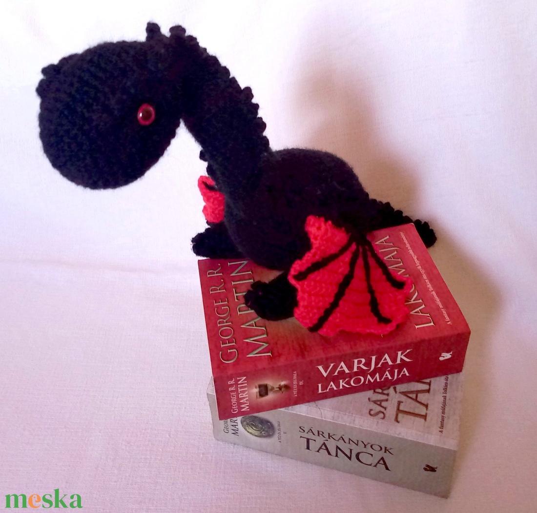 Drogon, a sárkány a Trónok Harca világából - játék & gyerek - plüssállat & játékfigura - más figura - Meska.hu
