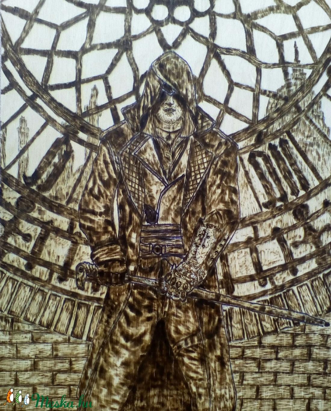 Assassin s creed szereplő pirográffal (Amindenes) - Meska.hu bd976bd9de