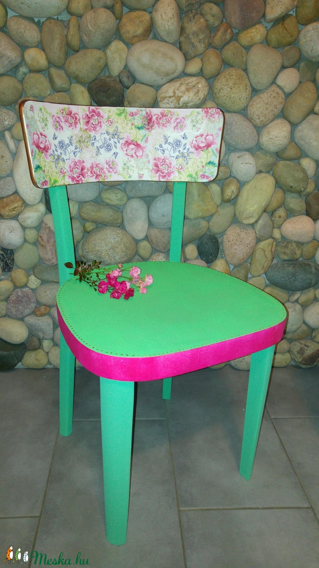 Színes modern szék  (andreakosar) - Meska.hu