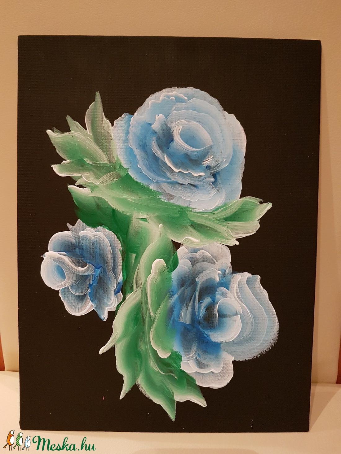 Absztrakt rózsa (Andyjrainbow) - Meska.hu