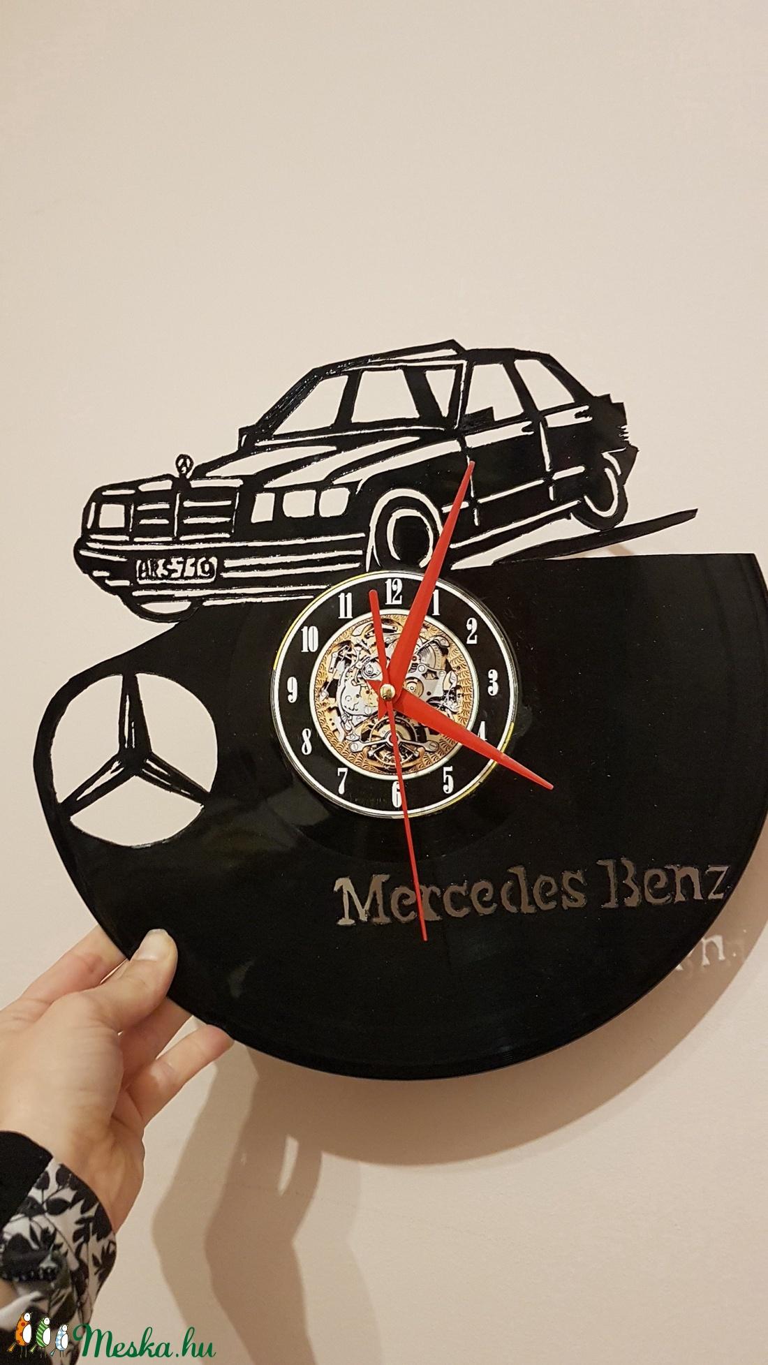Bakelit óra, Mercedes (Andyjrainbow) - Meska.hu