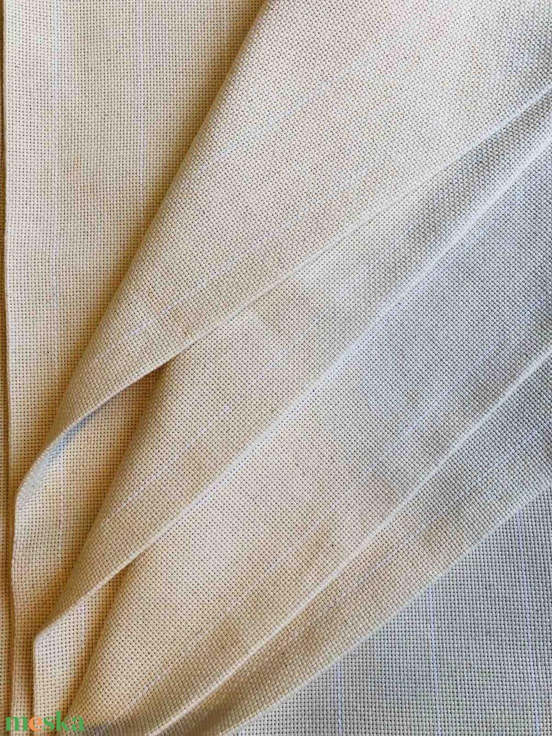 Eredeti amerikai Monk's Cloth, szerzetes vászon - hímzővászon punch needle technikához - textil - pamut - Meska.hu