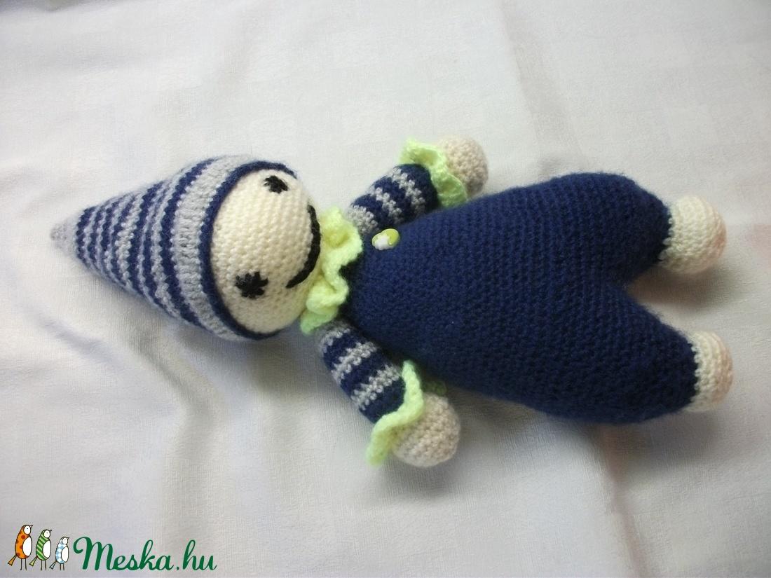 Horgolt bohóc baba párban. Bohóc testvérek - játék & gyerek - plüssállat & játékfigura - más figura - Meska.hu