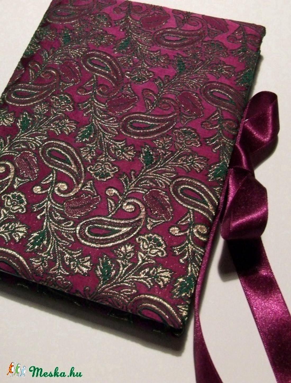 Lila indiai brokát napló (anyeska) - Meska.hu da31385070