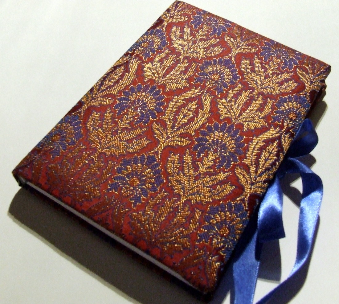 Vörös-kék indiai brokát napló (anyeska) - Meska.hu 9b7d5e0aa4