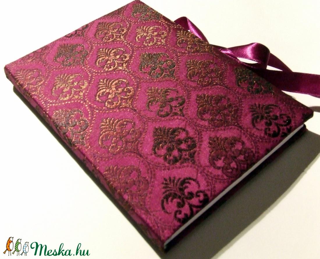 Mályva indiai brokát napló (anyeska) - Meska.hu 5e46bb5a48