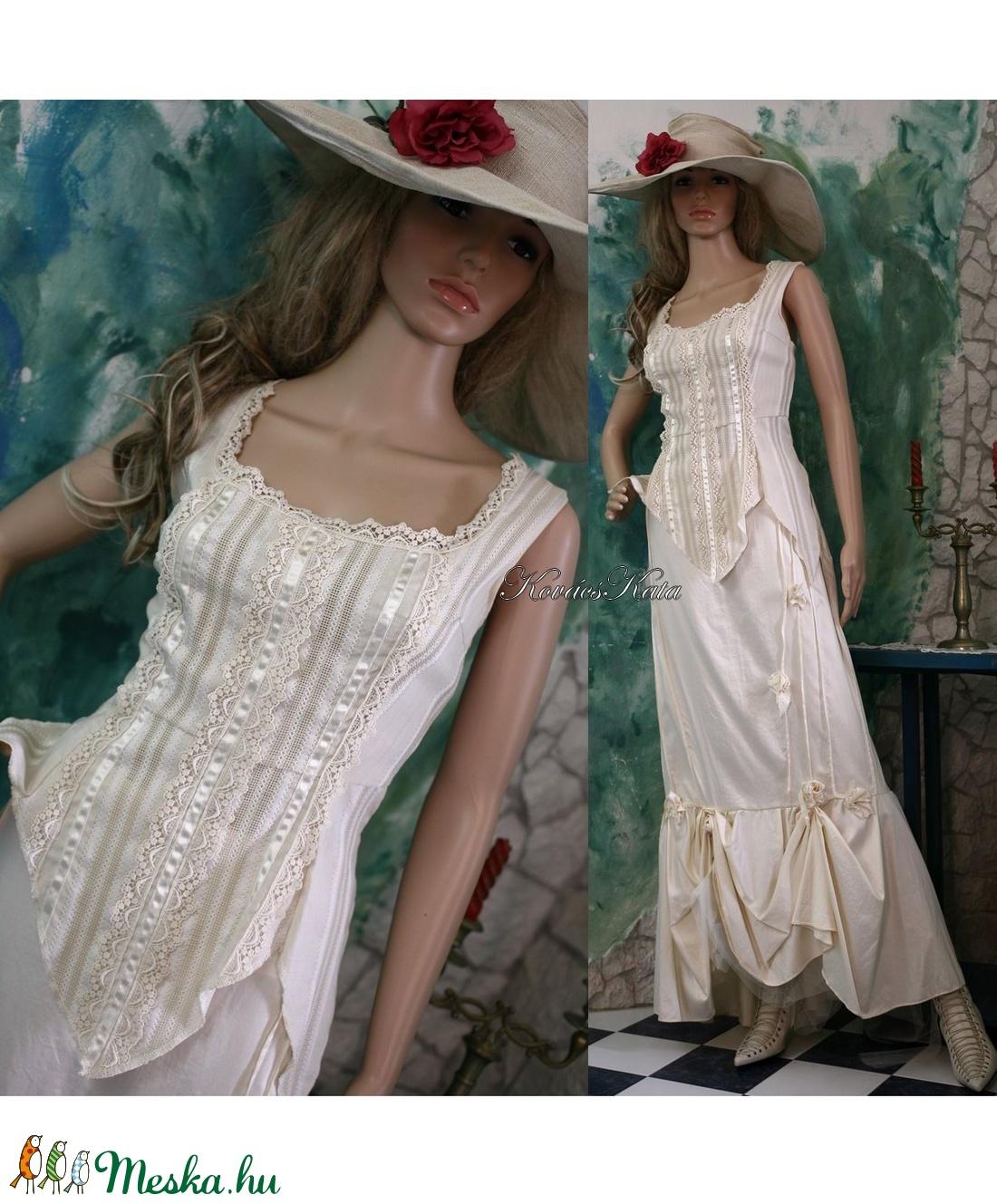 BORI - menyasszonyi ruha (Aranybrokat) - Meska.hu 6ad2cd64ab