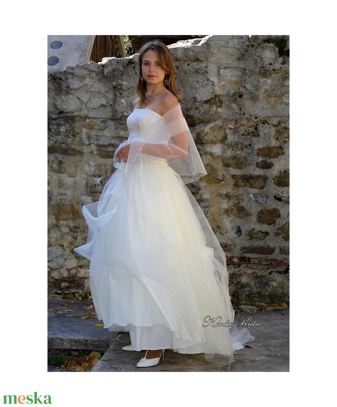 ANGELA - menyasszonyi ruha - esküvő - ruha - menyasszonyi ruha - Meska.hu