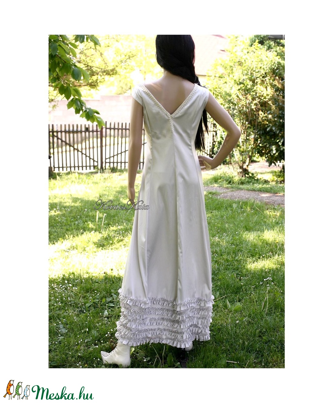 MILENA - romantikus örömanya ruha (Aranybrokat) - Meska.hu 9ca5a83a39