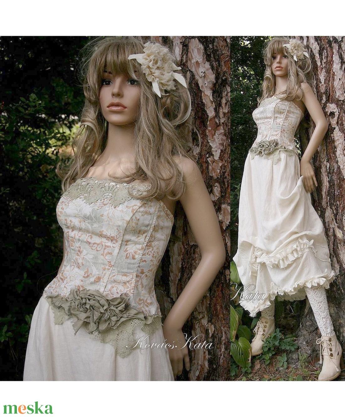 CATHERINA - design ruha (Aranybrokat) - Meska.hu 9877b7eeb1