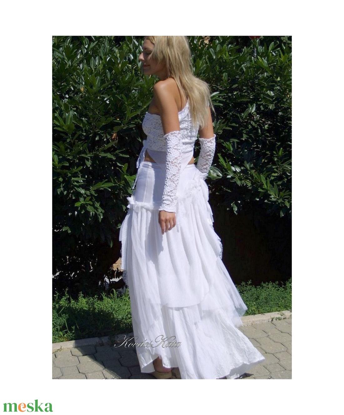 MARIETTA - menyasszonyi ruha - esküvő - ruha - menyasszonyi ruha - Meska.hu