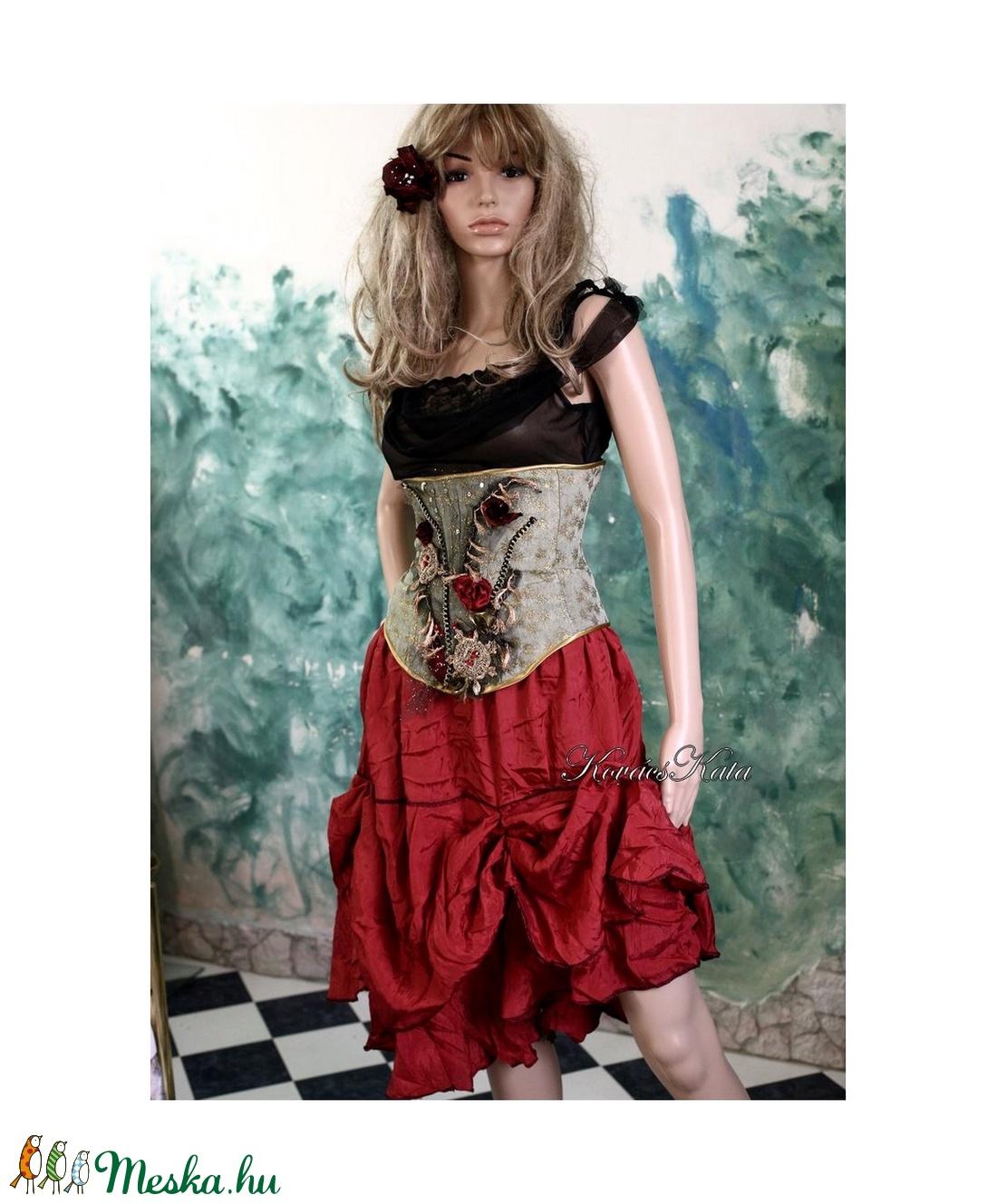 ROKOKÓ derékfűző - artsy fashion design - ruha & divat - női ruha - alkalmi ruha & estélyi ruha - Meska.hu
