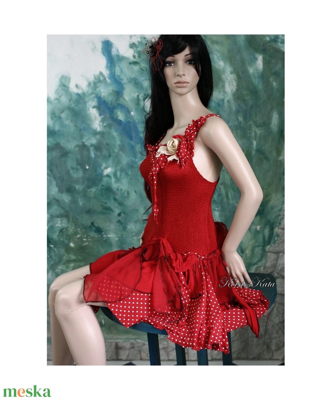 CSINIBABA táncruha, menyecske ruha - esküvő - ruha - menyecske ruha - Meska.hu