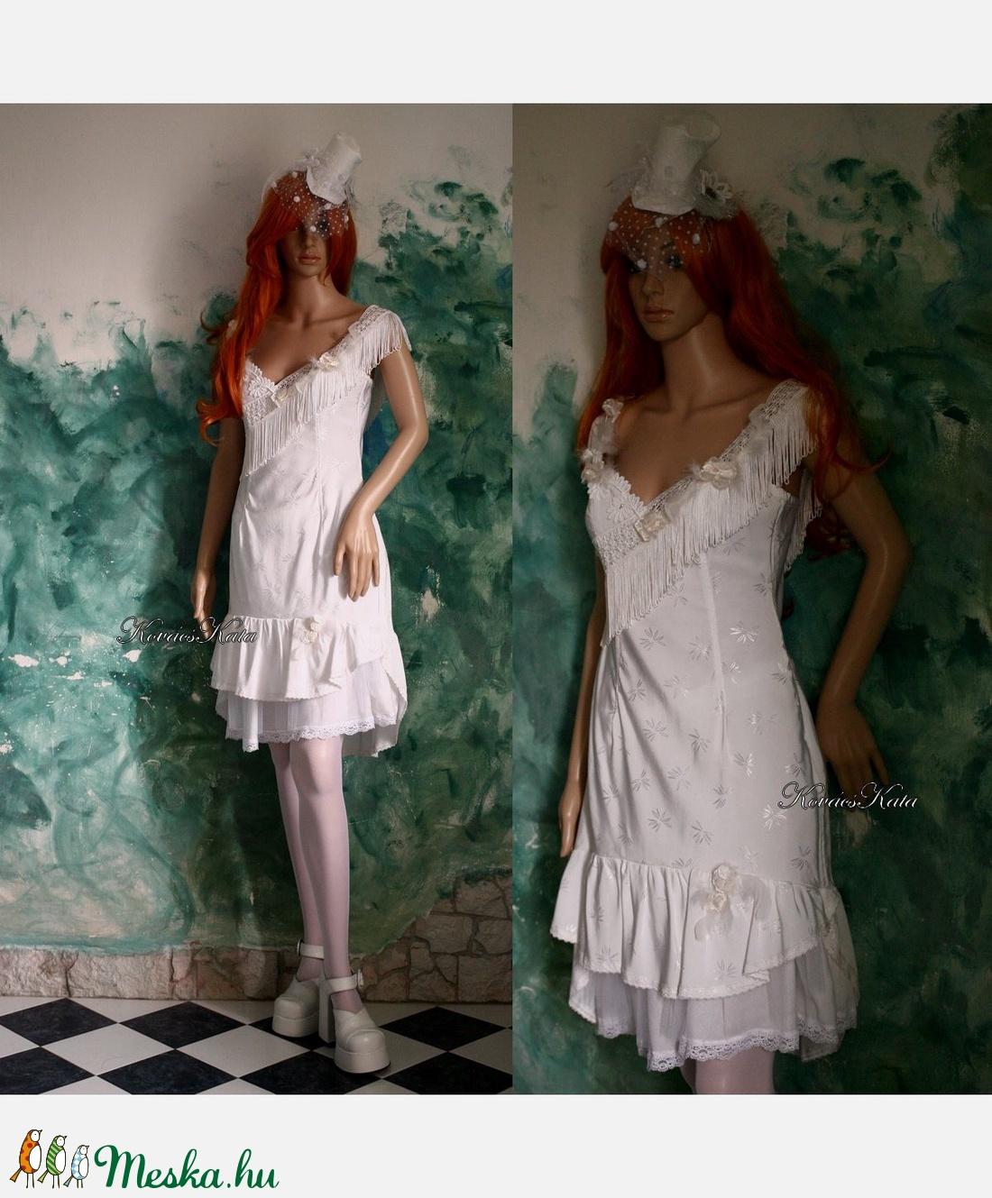 WHITE-ROSE - menyasszonyi ruha (Aranybrokat) - Meska.hu 85fc9324e3