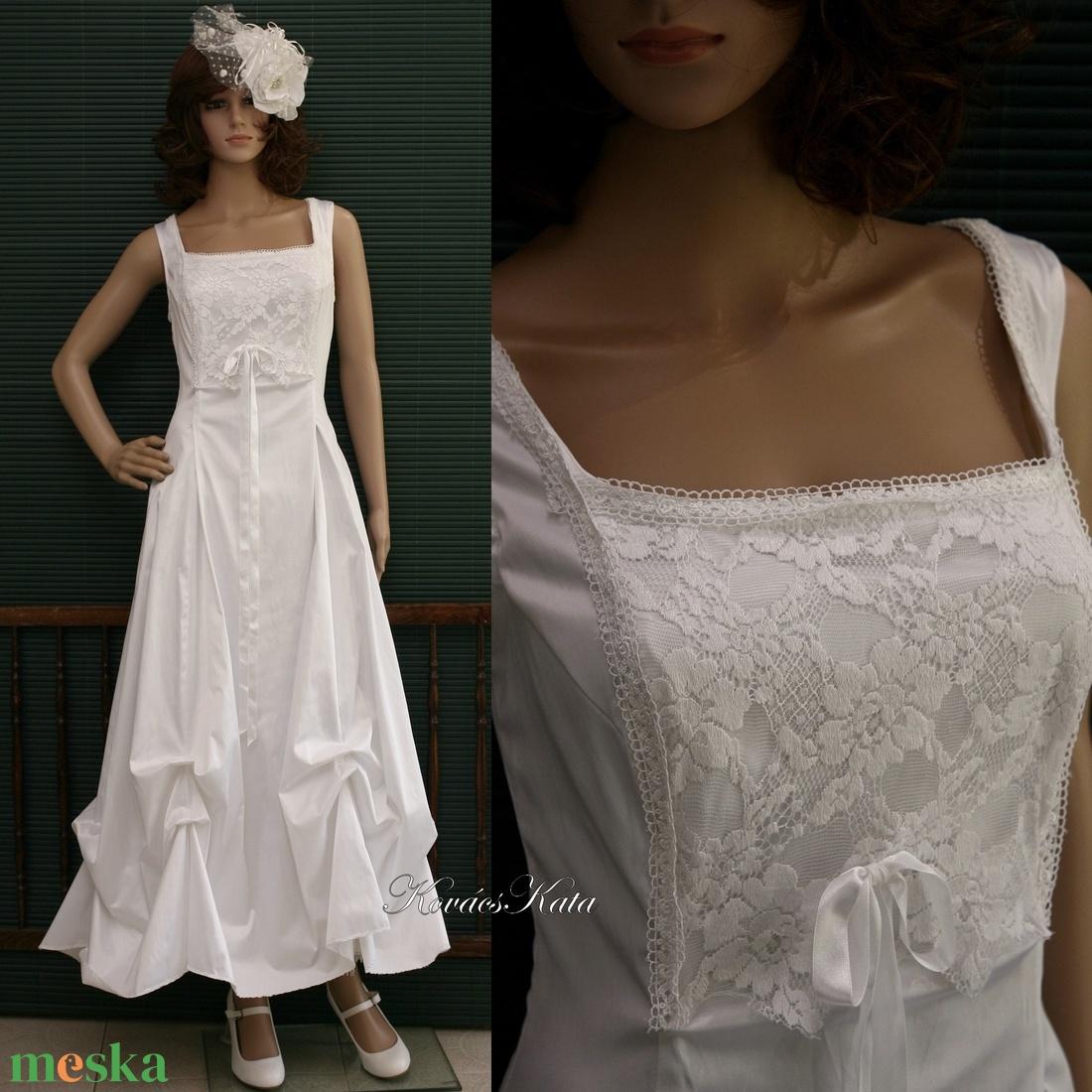 LETÍCIA - menyasszonyi ruha (Aranybrokat) - Meska.hu 7568e4304a