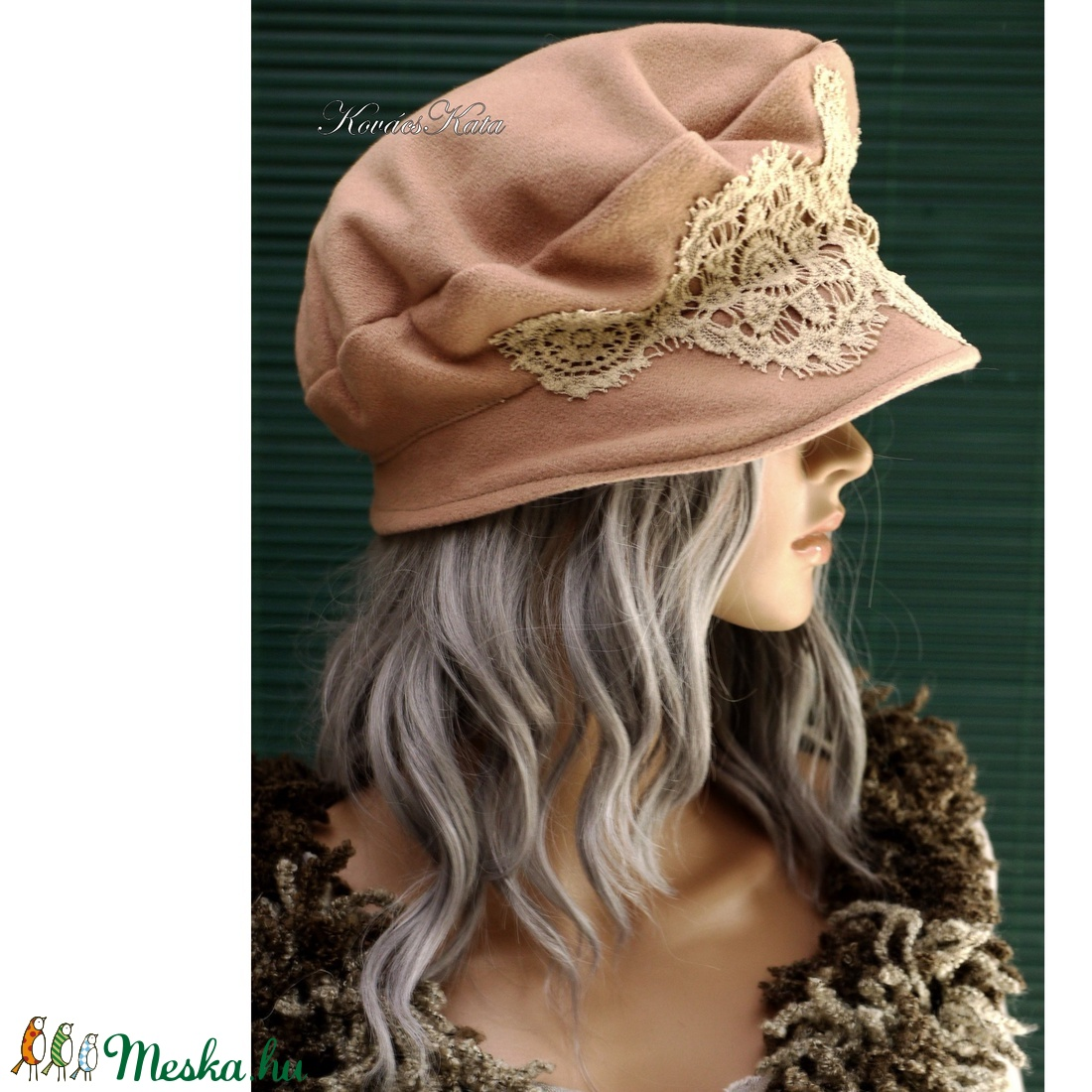 TAMARA - kézműves kalap - ruha & divat - sál, sapka, kendő - kalap - Meska.hu